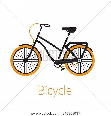 Street Bike Bw Icon Or Logo Template