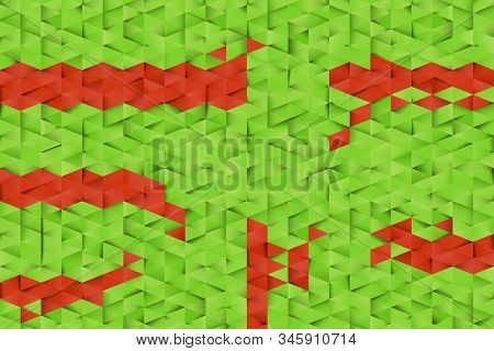 Colored Triangles Abstract Background. Business Template For Advertising, Poster, Business Card And
