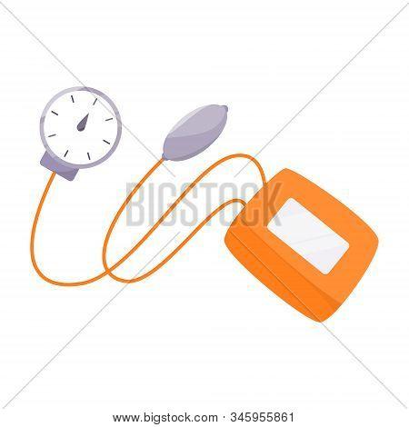 Tonometer Illustration. Blood Pressure Checker. Medical Tool