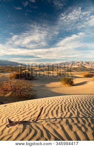 Death Valley National Park. Beautyfull Summer View