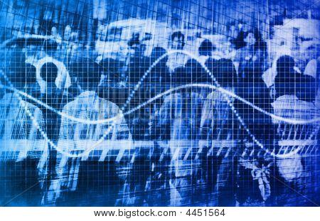 Web Traffic Data Analysis Graph Internet Chart poster