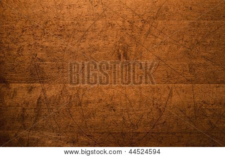 Distressed Wood Table Top Background
