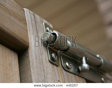 Locked Latch