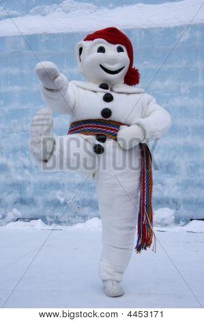 Quebec Carnival: Le Bonhomme