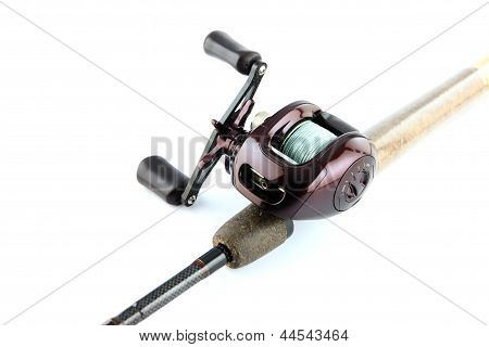 The Baitcasting Is Violet Color.