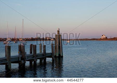 Great Salt Pond At Block Island, Ri