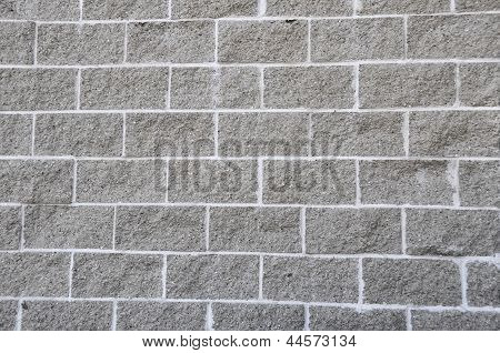 Cement Block Wall