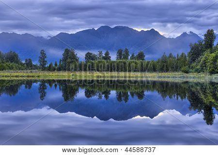 Lake Matheson Mirror