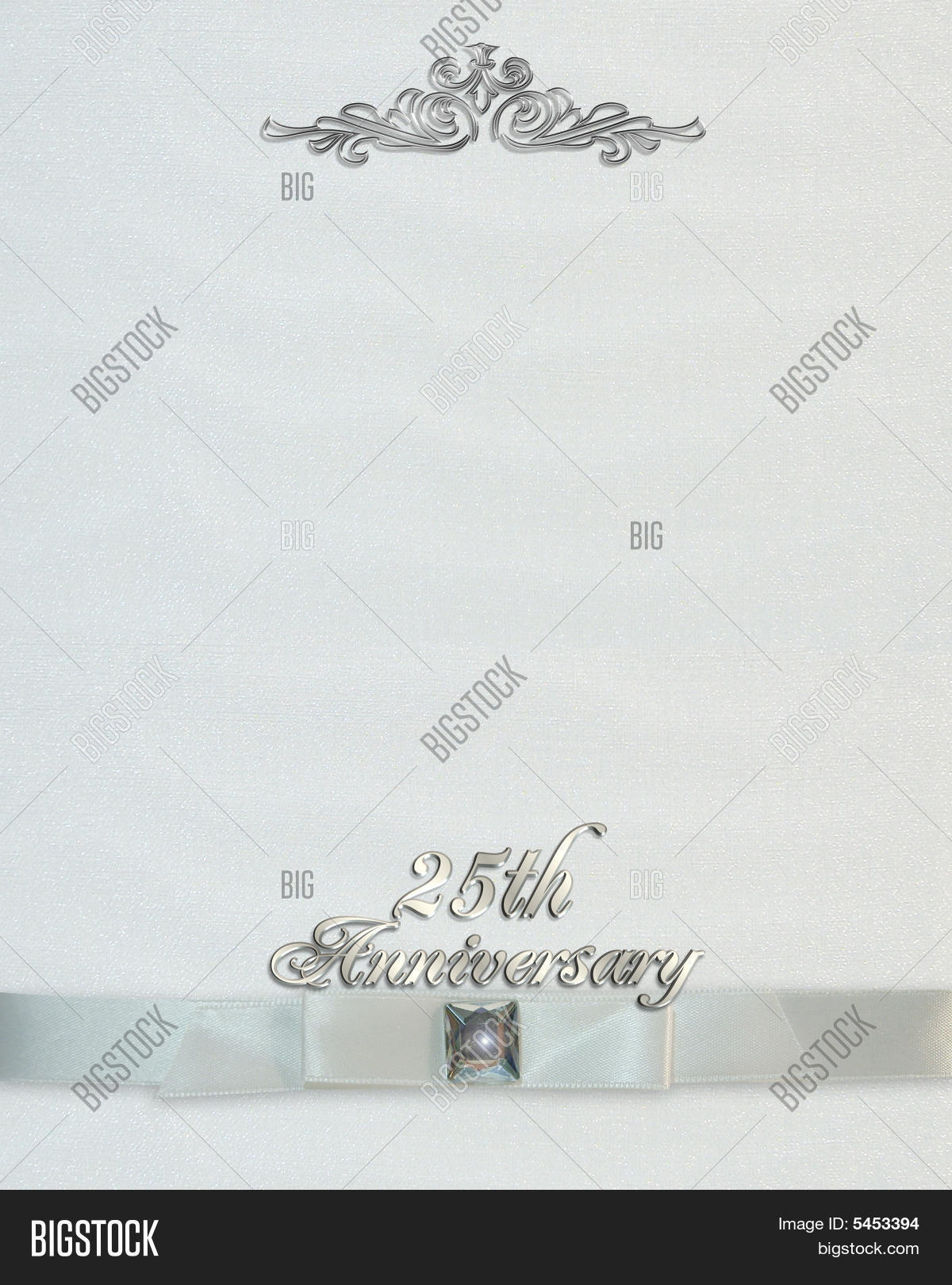 25th wedding image photo free trial bigstock 25th wedding anniversary invitation background stopboris Gallery