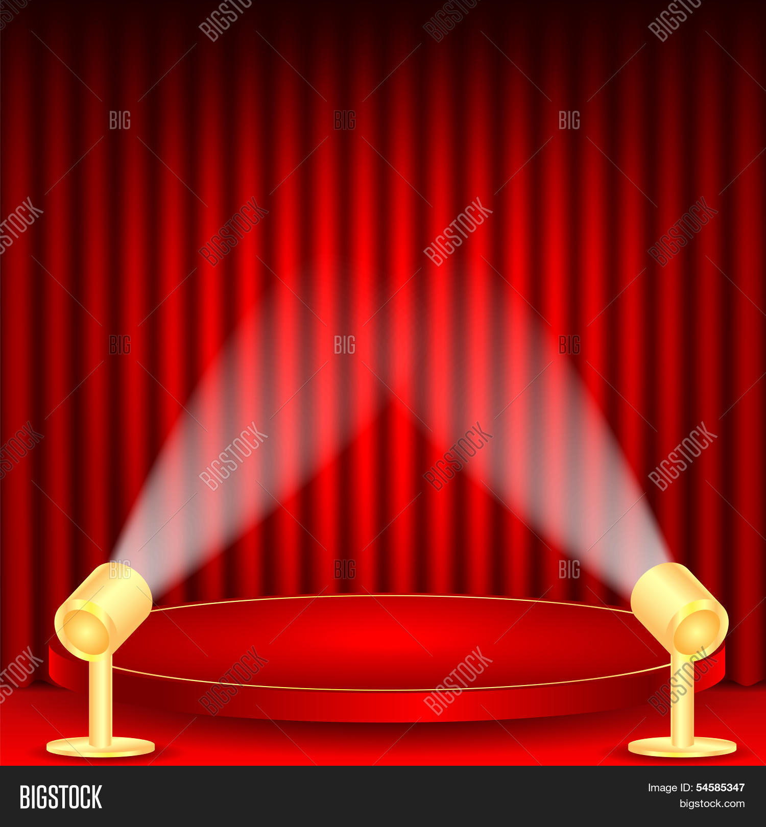 theatrical background vector photo free trial bigstock