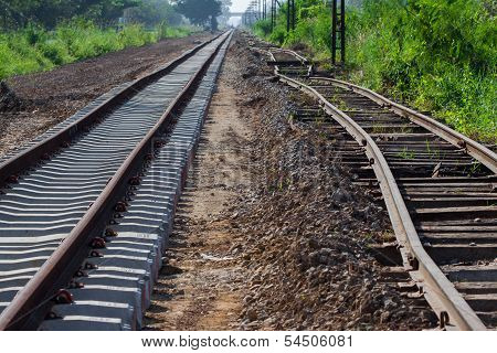 repair rail way