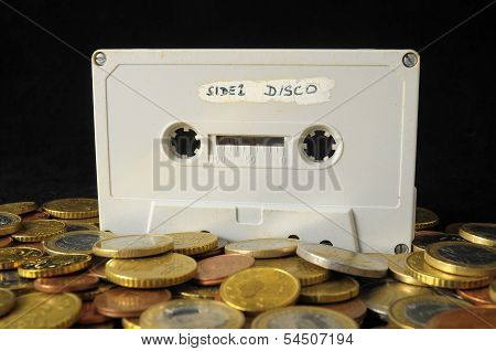 Money and Music Concept