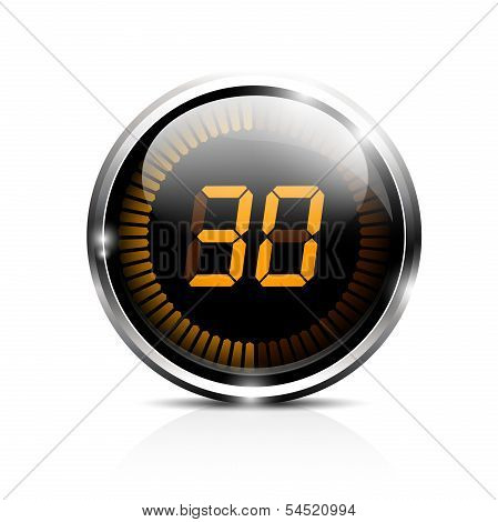 Electronic timer 30 seconds