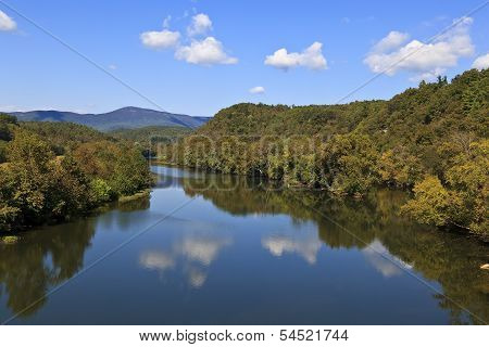 James River in Virginia