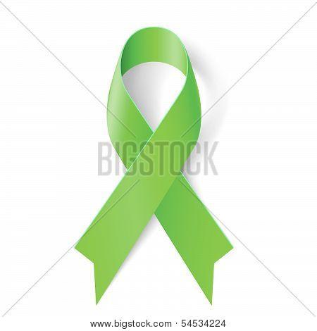 Green ribbon.