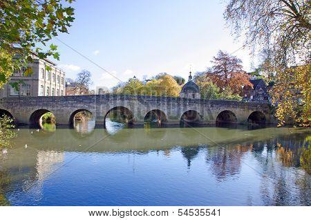 Old town bridge, Bradford on Avon, England