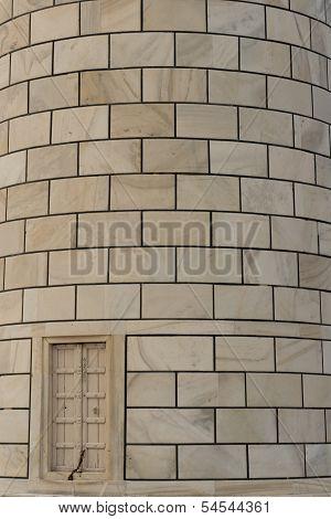 Particular Of A Minaret Of Taj Mahal