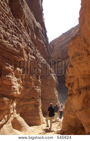 Colored/coloured Canyon, Sinai Desert, Egypt