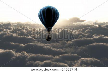 Air Baloon On Sky