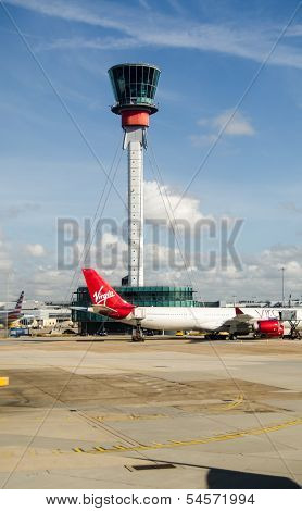 Control Tower, Heathrow Airport, London