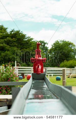 Retro Water Pump