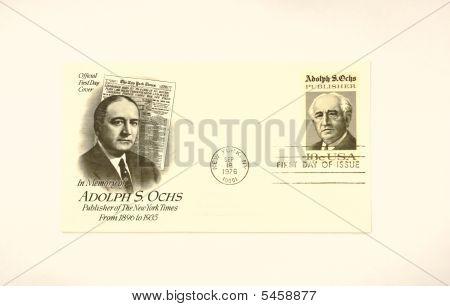 Memory Adolph S  Ochs