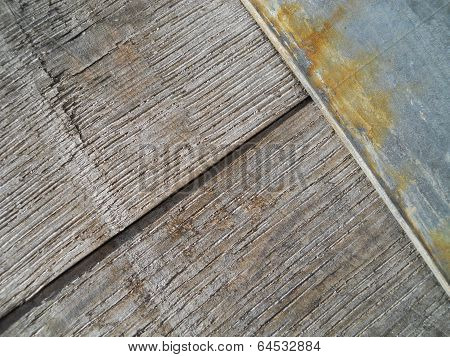 Old Wood Barrel Diagonal Texture