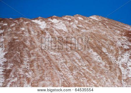 Mountains in Saligorsk