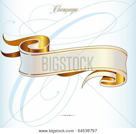 Gold Vector Baner