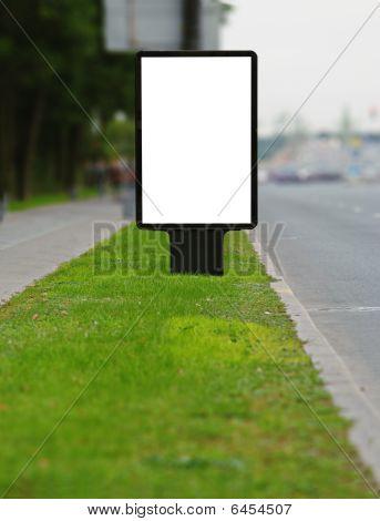 Publicity Board On A Roadside