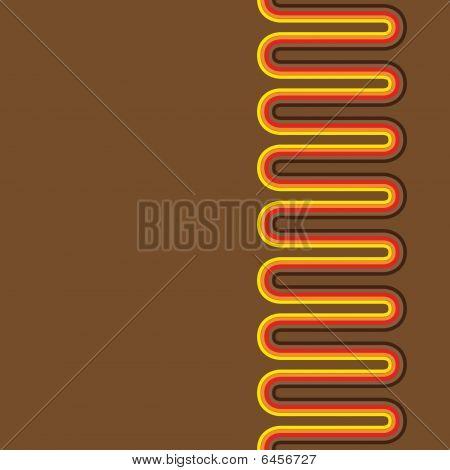 Seamless Retro pattern lines