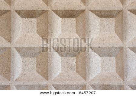 Truncated Pyramid Concrete Texture