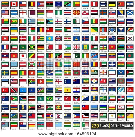 Flags flat sets