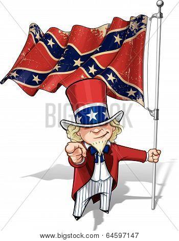Dixie Sam I Want You Stars And Bars