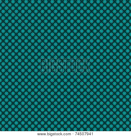 Seamless (easy to repeat) abstract weaved background (texture, pattern, tile, swatch, wallpaper, print) of green blue or dark turquoise trendy winter holidays Christmas colors poster