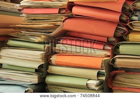 Stacked Files