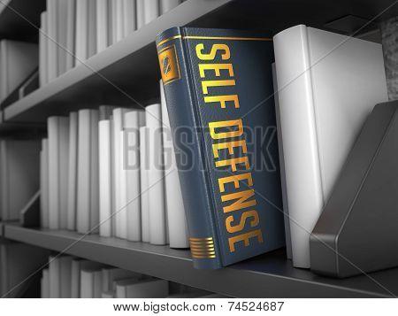 Self Defense - Title of Grey Book.