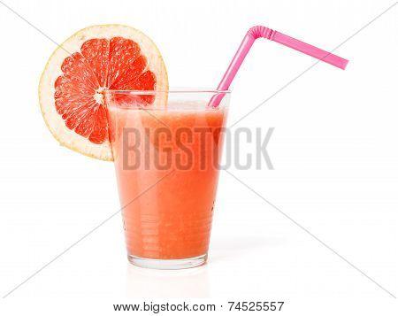 Fresh Red Grapefruit Juice