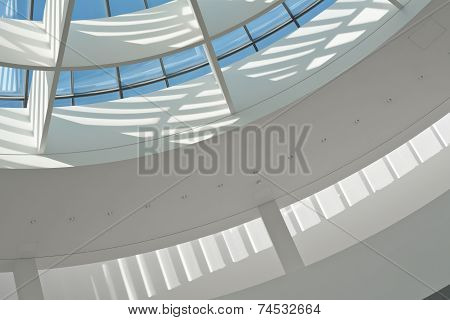 Skylight as an Indoor Architectural Design Element poster