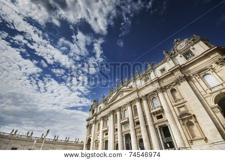 St. Peter, and the Basilica, Rome