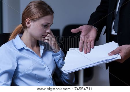 Assistant And Paperwork