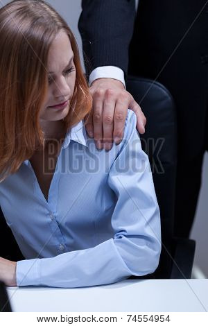 Employee And Her Boss