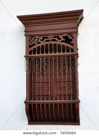 Colonial Spanish Window