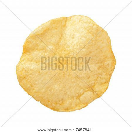 Potato Chip Isolated