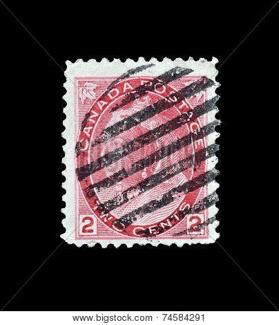 Queen Victoria stamp 1899