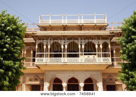City Palace Entrance, Jaipur, India