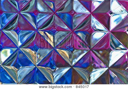 Abstract Glass Block