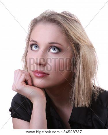 Woman Thoughtful