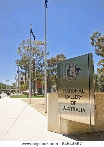 Canberra, Australia - December 18, 2014: National Gallery Of Aus