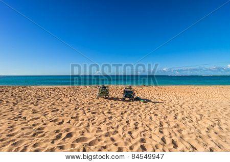 Exotic Haena Beach In Kauai Island, Hawaii
